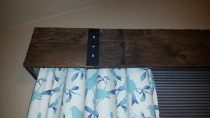 Barn Board Cornice Close Up 3