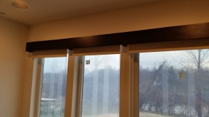 Contemporary Custom Wood Cornice Board