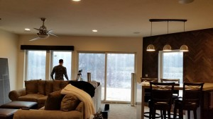 Custom Wood Cornice Contemporary 2