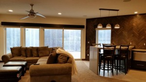 Custom Wood Cornice Contemporary 4